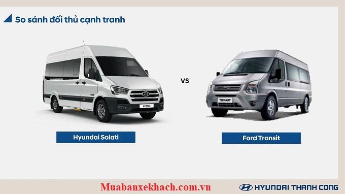 Hyundai Solati và Ford Transit