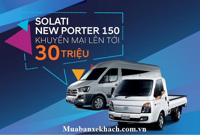 Hyundai Solati và Porter 150