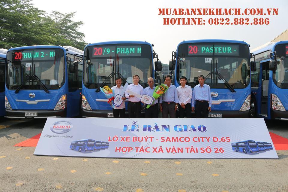 xe buýt Samco City D65
