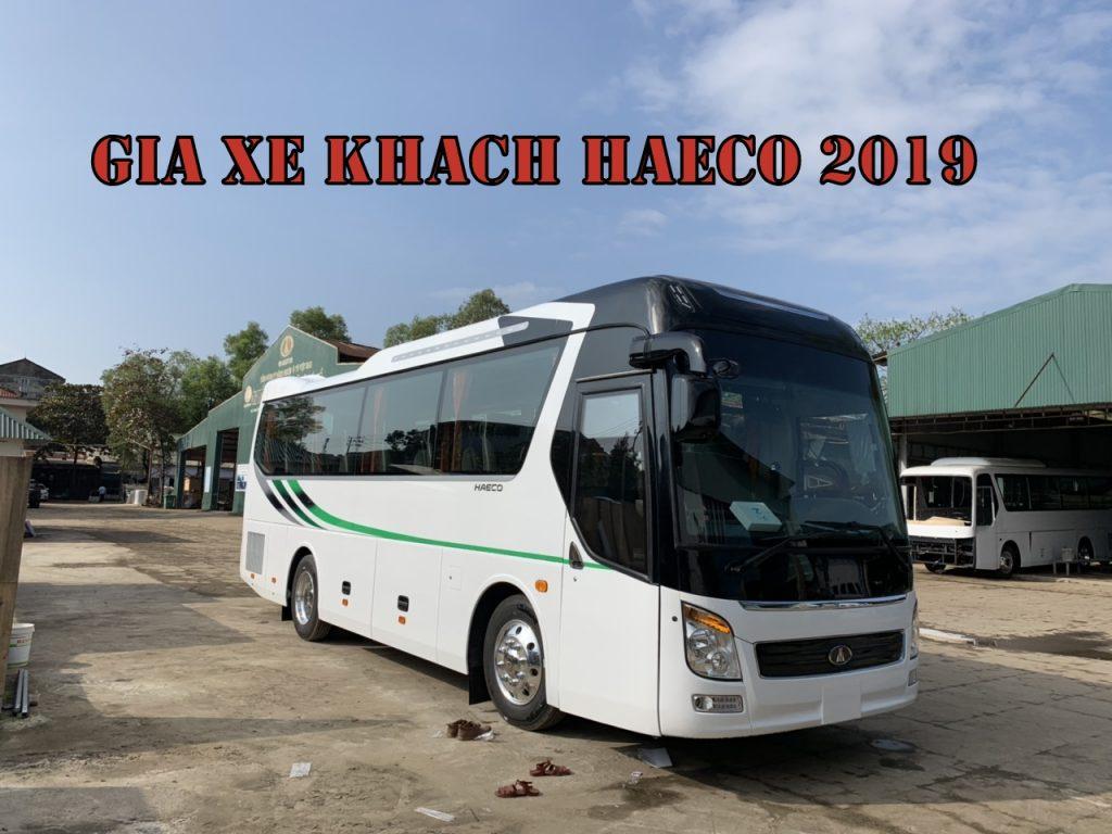 Giá xe Khách Haeco 2019