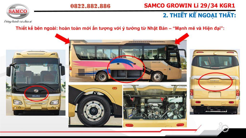 xe khách Samco Growin